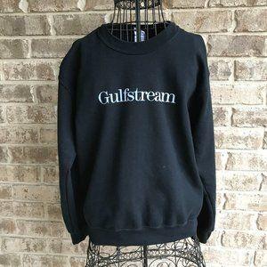 Gulfstream Sweatshirt Small Aviation Pilot Flight